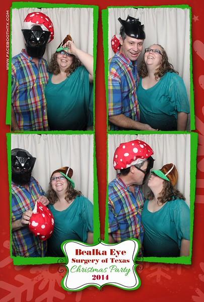 Bealka Eye Surgery of Texas Christmas Party