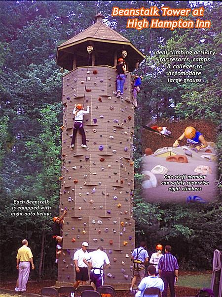 Beanstalk Climbing Tower