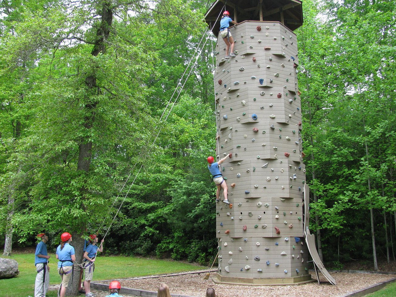 High Hampton Inn Climbing Tower