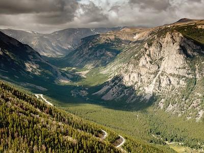 Beartooth Highway Vista