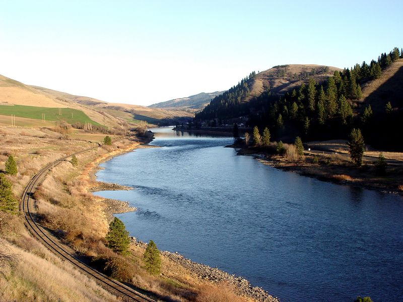 Clearwater River below Black Rock