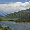 Clearwater River from our friend's (Steve & Diane Pettit) home site.