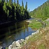 And now we see the beautiful Lochsa River. It is the headwaters of the Clearwater River.
