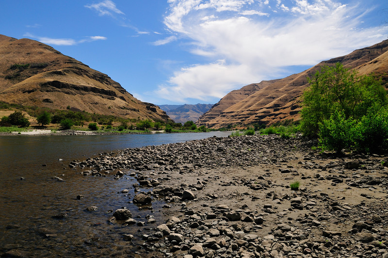 The Snake River at Couse Creek.