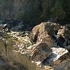 Selway Falls boulders
