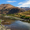 Grande Ronde River a few miles above its junction with the Snake River.