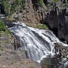 Gibbon Falls in Yellowstone Park