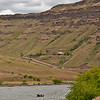 Home of the late Jimmy Green, well known fly rod designer, holds a commanding view and prominence on the hillside  above the Grande Ronde just before it joins the Snake.  May 26, 2012
