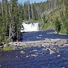 Lewis Falls on Lewis River, Yellowstone National Park