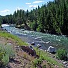 Clark Fork of the Yellowstone River on Chief Joseph Scenic Byway