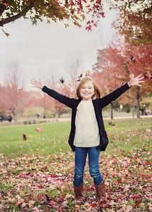 Ella Loves the Leaves! (1 of 1)