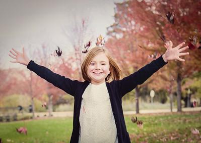 Ella Loves the Leaves! crop (1 of 1)