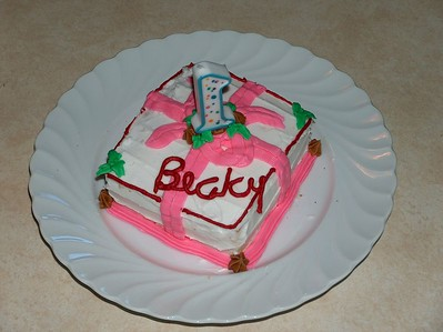 Becky's 1st Birthday