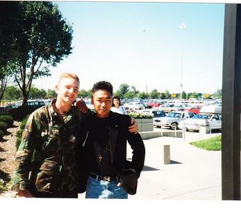 Dave and I circa 1992
