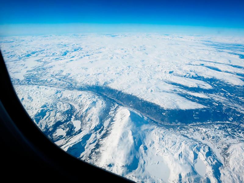 På vei fra Norge - Rjukan