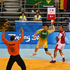 Handball. Did you know this was an Olympic Sport?