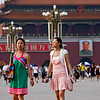 Girls in Tiananmen Square
