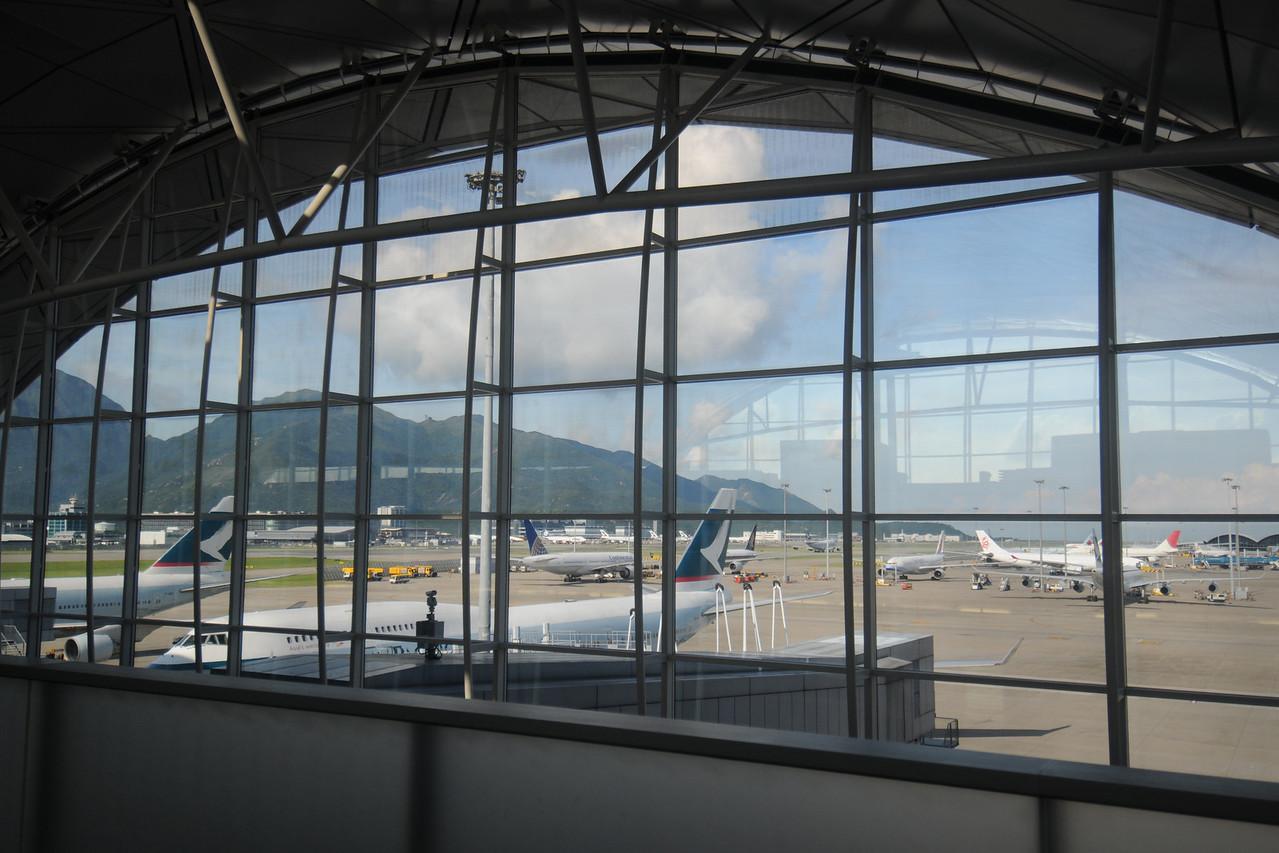 Hong Kong International Airport.  Beautiful Da.