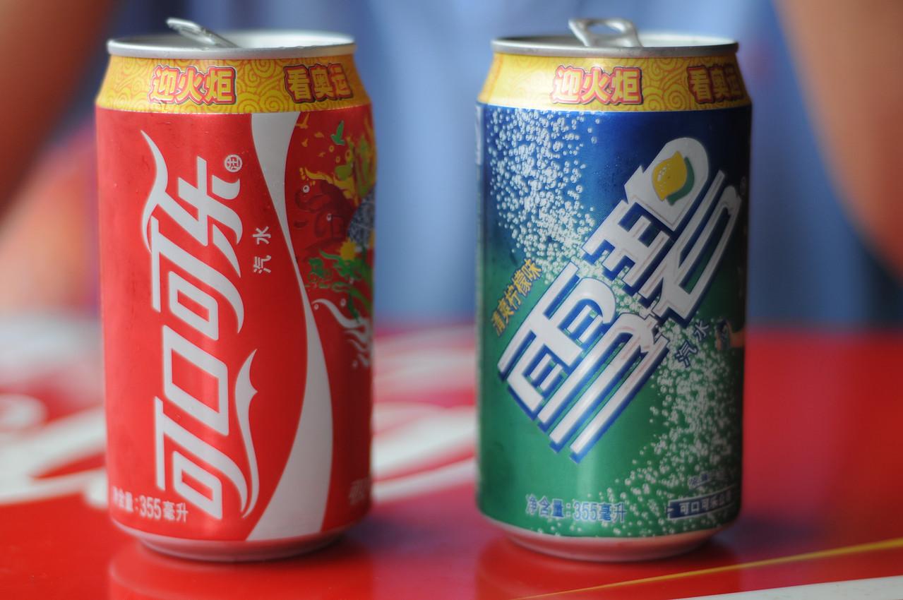 Coke and Sprite.
