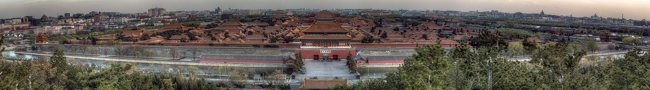 Forbidden City - Panoramic