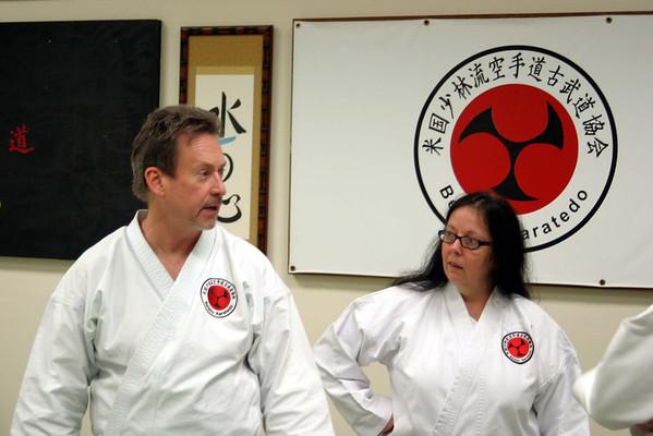 Beisho Self Defense Seminar, Waltham, MA (May 5, 2012)