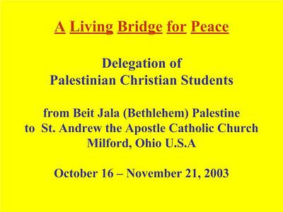 Beit Jala Students 2003