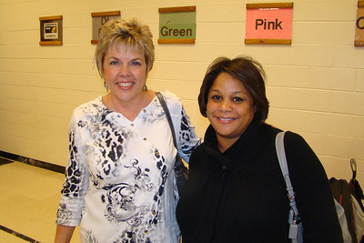 Ms. Collins (My Music Teacher) and Lisa Bethea Lamar my friend from kindergarten.  We are still friends to this day!