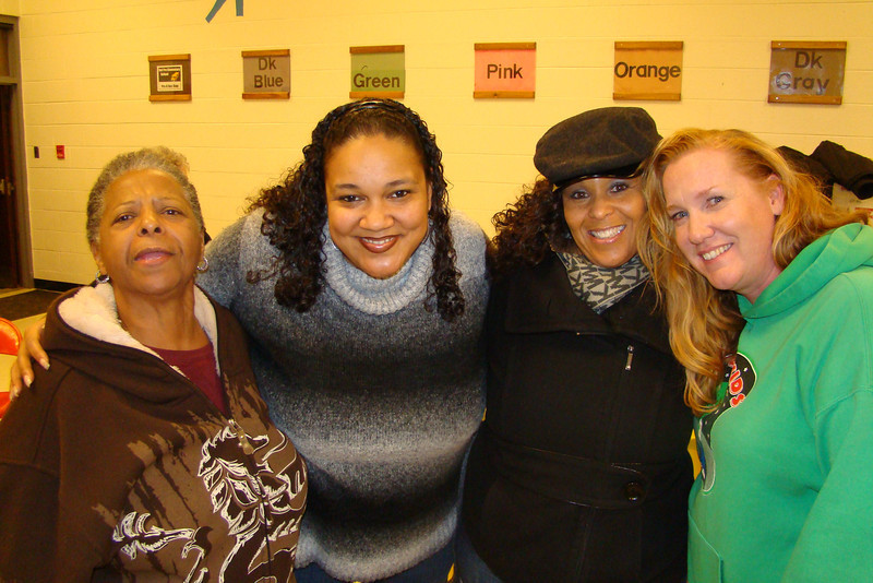 Ms. Lee, Maria, Robin Lee, and Dee Dee O'Grady