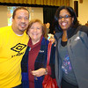 Me, Mrs. Haber (4th Grade Teacher) and Monique.