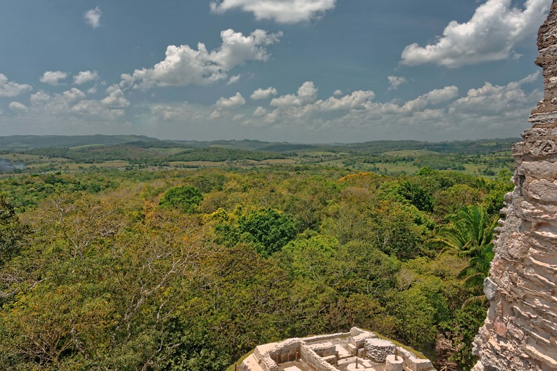 View from top of El Castillo