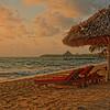 First Light - Beach at Belizean Dreams