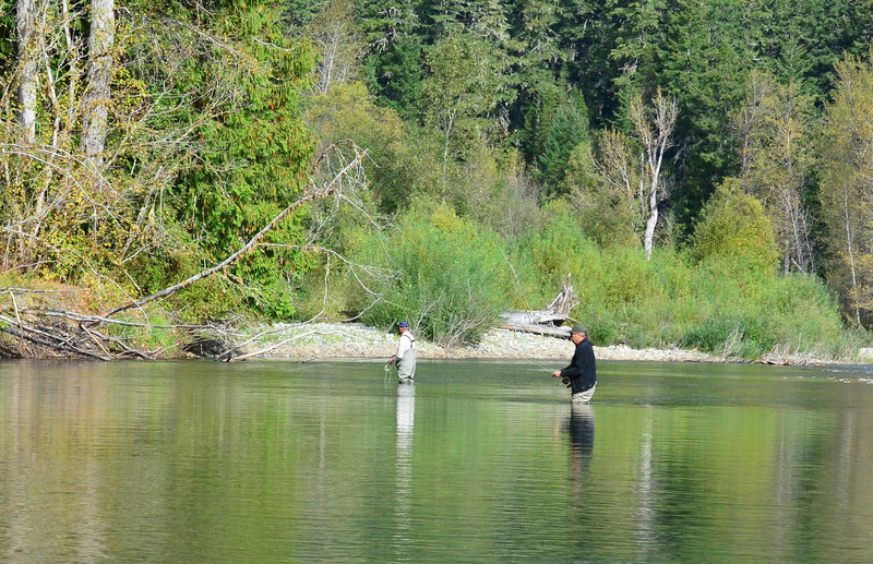 fishing on the Atnarko River