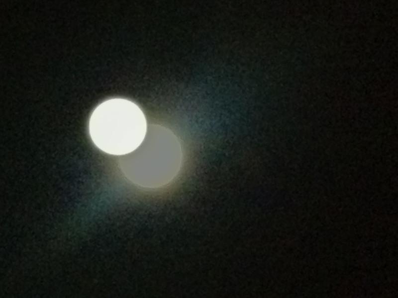 Full Moon, Bella's 3rd month birthday