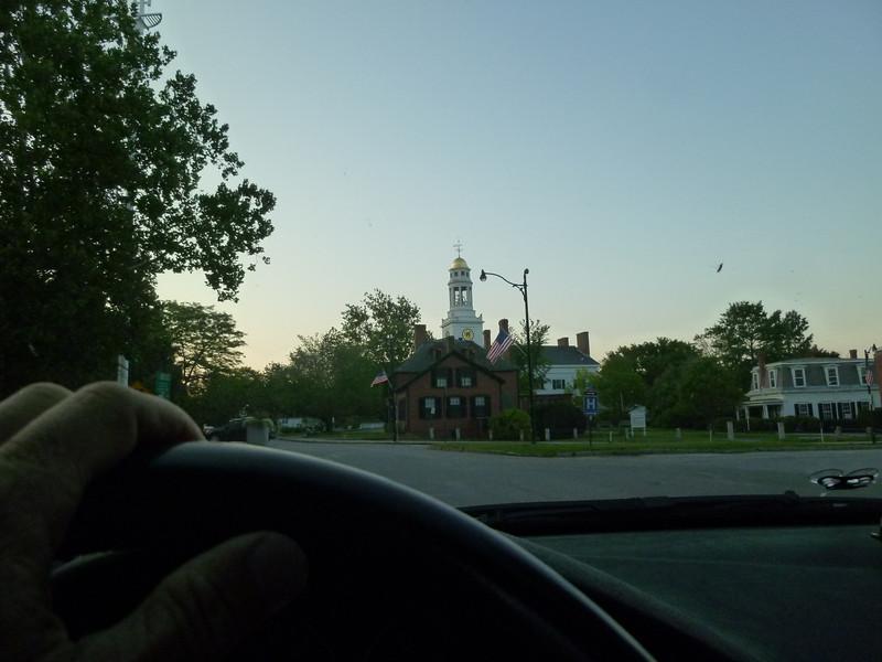 Concord Center, sunrise, day of Bella's birth...