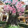 Acrylic cherry blossom tree.
