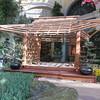 The tea house.