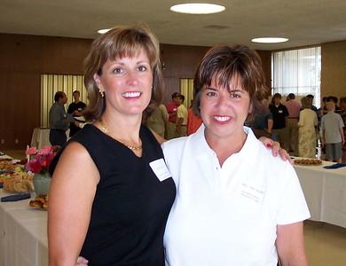 Debbie Lee and Sue Tuttle
