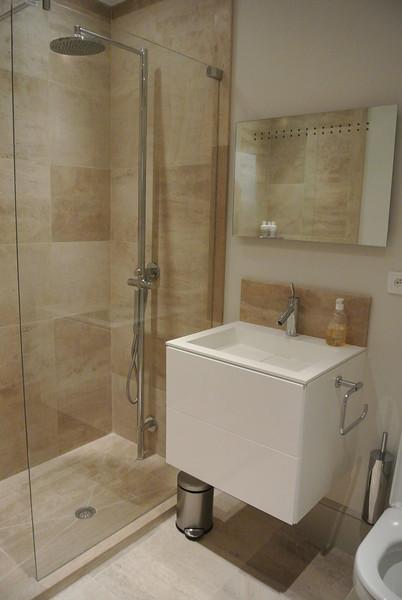 Ground Floor Shower Room (Off rear lobby)