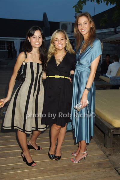 Alexandra Balltodano, Alexa von Tobel, Christina  Perri<br /> photo by Rob Rich © 2008 robwayne1@aol.com 516-676-3939