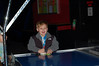 William playing a little air hockey!