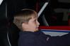 Preston playing his favorite race car game!