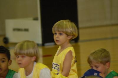Bennett's first Basketball Season 2008