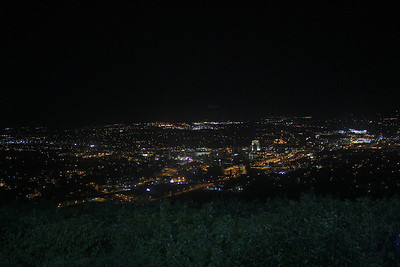 View of Roanoke from the Star on Mill Mountain.
