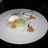 peach, matcha, elderflower