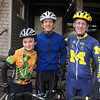 Three generations head out for a (tough) bike ride.