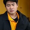 Steven Kam at the Cal Wushu Tournament, Berkeley, California