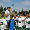 Assistant coach John with the Rockridge Piranhas.