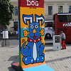 Berlin Wall segment, used for artistic purposes....
