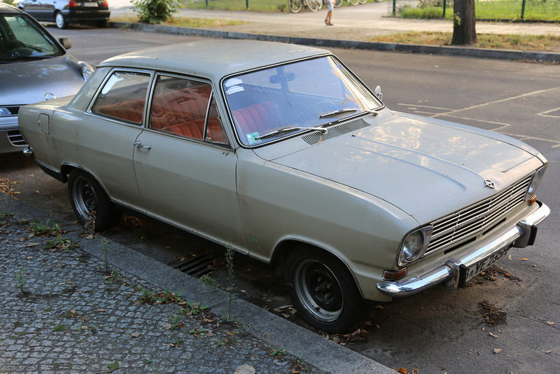 The ultimate workers car..... Opel Kadett.<br /> In my childhood, this was a very popular car...