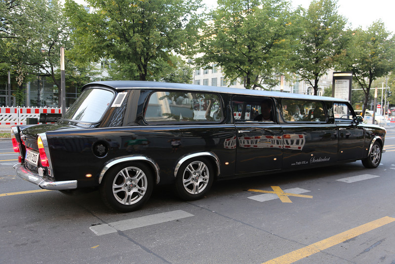 A communist Limo....<br /> (very nice piece of bodywork, made of a chopped Trabant!!)